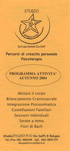 corsi-seminari-daniela-iacchelli-psicoterapeuta-bologna-14 Profilo Professionale