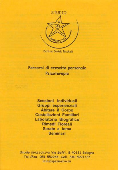 corsi-seminari-daniela-iacchelli-psicoterapeuta-bologna-16 Profilo Professionale