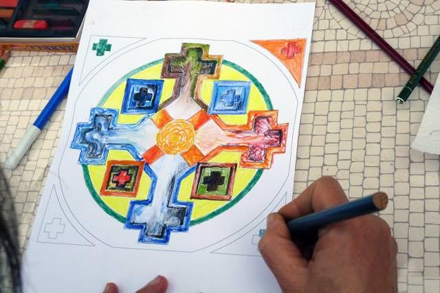 creativita-mandala-daniela-iacchelli-psicoterapeuta-bologna-106 Mandala Pasqua 2011