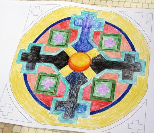creativita-mandala-daniela-iacchelli-psicoterapeuta-bologna-109 Mandala Pasqua 2011