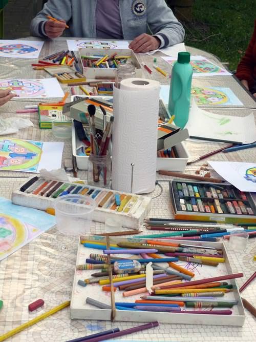 creativita-mandala-daniela-iacchelli-psicoterapeuta-bologna-111 Mandala Pasqua 2011
