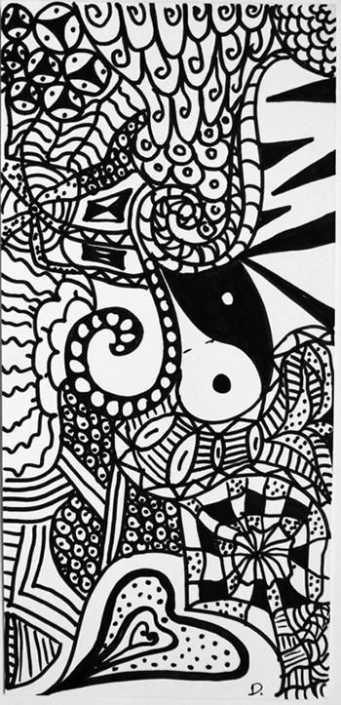 zentangle-daniela-iacchelli-psicoterapeuta-bologna-8-341x705 Zentangle di Daniela Iacchelli